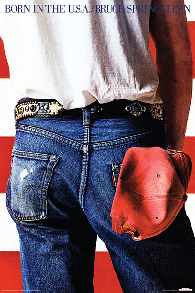 Plakát Bruce Springsteen - Born in the USA