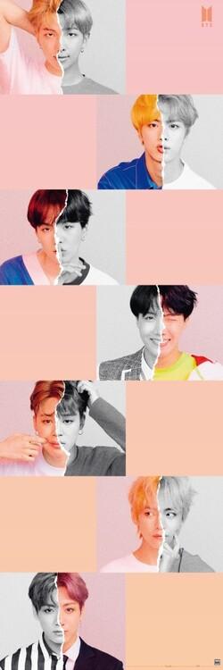 Plakát BTS - Selfie