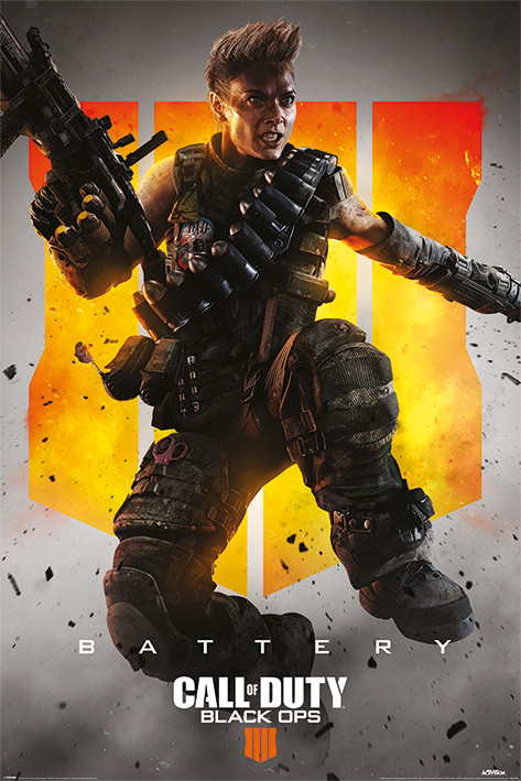 Plakát Call Of Duty – Black Ops 4 - Battery