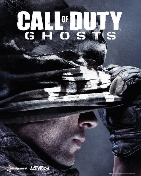 Plakat Call of Duty Ghosts - cover