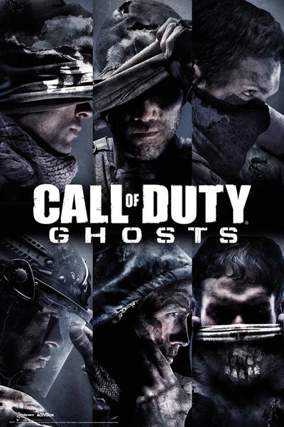 Plakát Call of Duty Ghosts - profiles