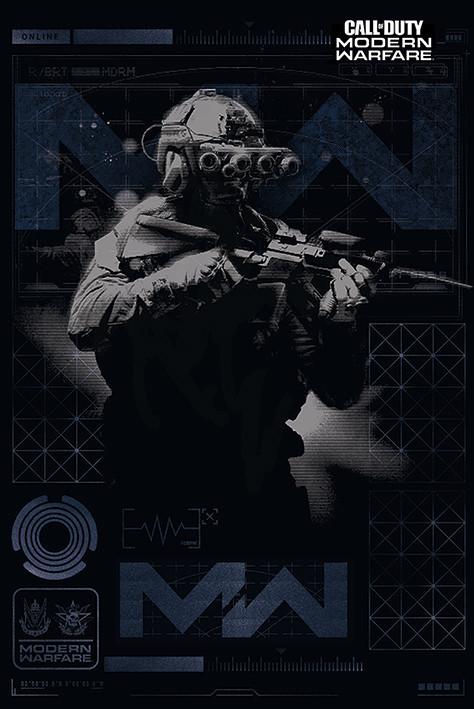 Plakát Call of Duty: Modern Warfare - Elite