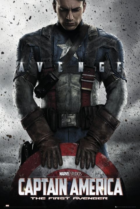 Plakat CAPTAIN AMERICA - teaser