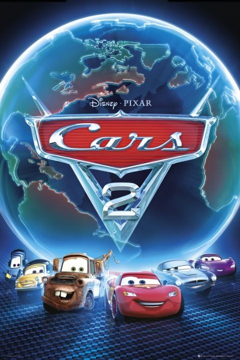 Plakát CARS 2 - one sheet