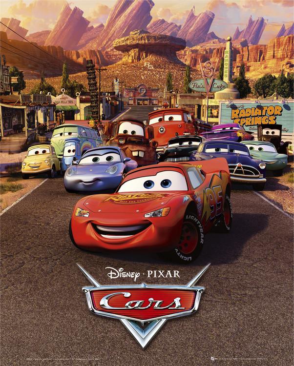 Plakát CARS - one sheet