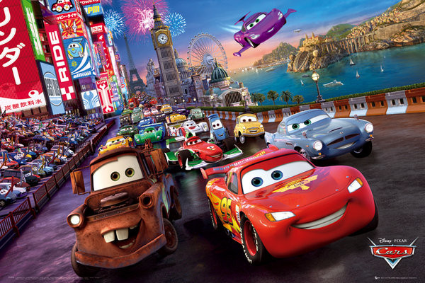 Plakát CARS - race