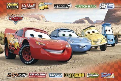 Plakat CARS - sponsors