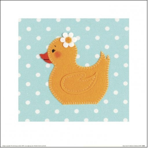 Reprodukcja Catherine Colebrook - Daisy Duck