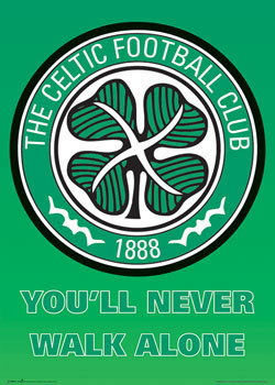 Plakat Celtic - club crest