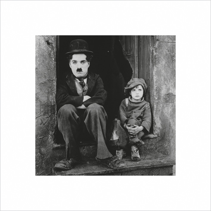 Reprodukcja Charlie Chaplin
