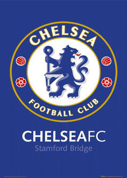 Plakat Chelsea - badge