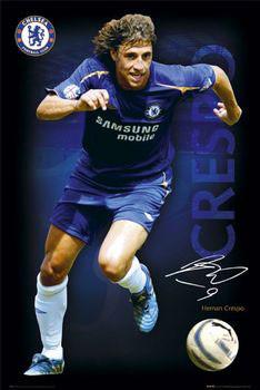 Plakat Chelsea - Crespo 05/06