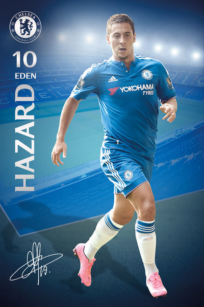 88beae30a Plakat, Obraz Chelsea FC - Hazard 15/16   Kup na Posters.pl