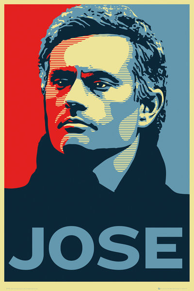 Plakát Chelsea FC - Jose Mourinho