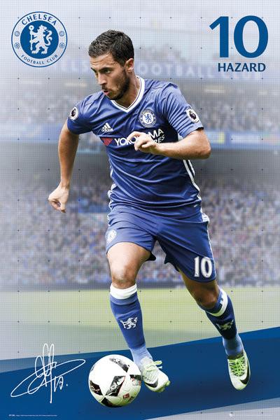 Plakát  Chelsea - Hazard 16/17