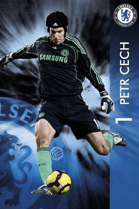 Plakát Chelsea - Petr Čech