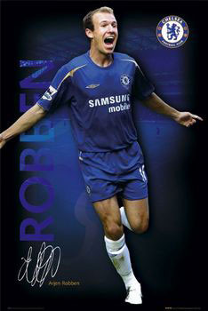 Plakát Chelsea - Robben 05/06