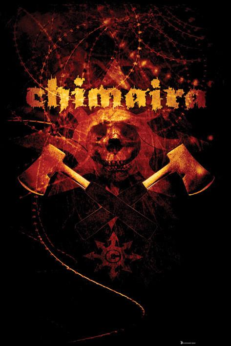Plakat Chimaira - axe