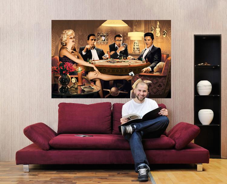 Plakát Chris Concani - Four of a King