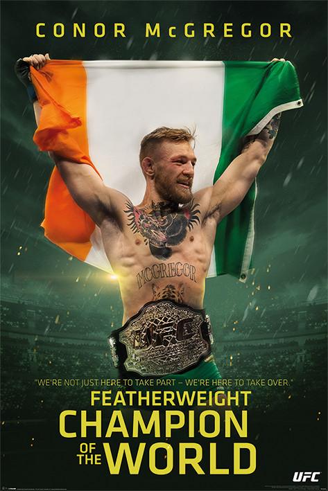 Plakát  Conor McGregor - Featherweight Champion
