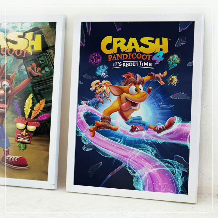 Plakát Crash Bandicoot 4 - Ride