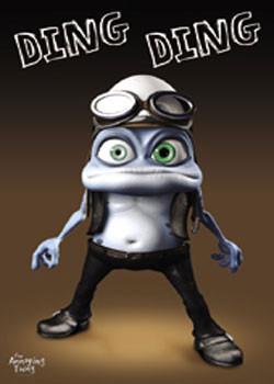 Plakát Crazy Frog - Ding Ding
