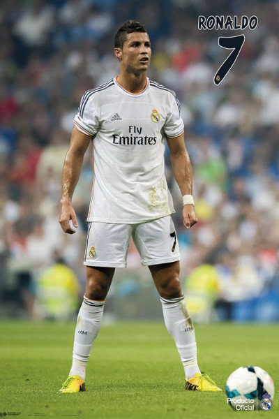Plakát Cristiano Ronaldo - Real Madrid Nr.7