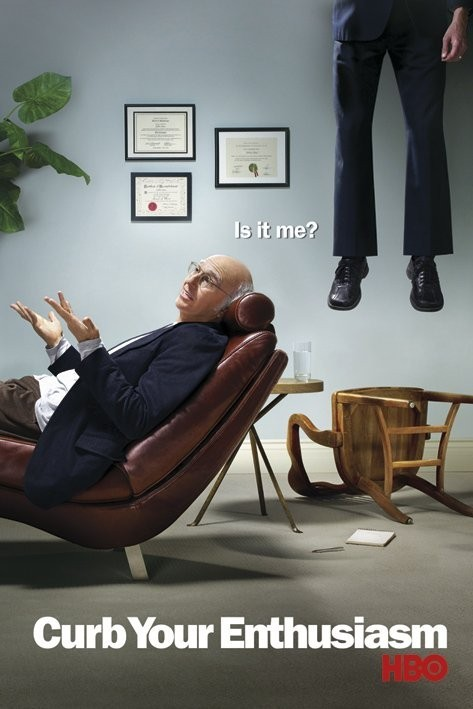 Plakat CURB YOUR ENTHUSIASM
