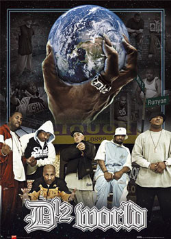 Plakat D12 - world
