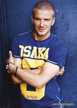 Plakat David Beckham - osaka