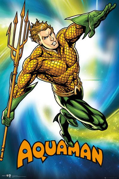 Plakat DC Comics - Aquaman