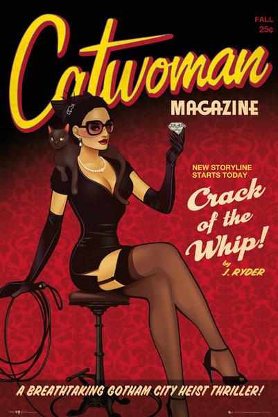 Plakát DC Comics - Catwoman Bombshell