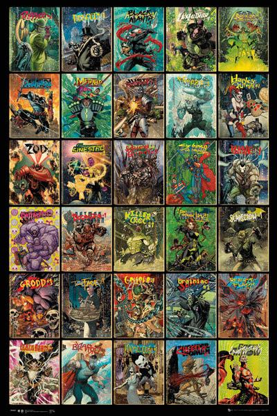 Plakat DC Comics - Forever Evil Compilation