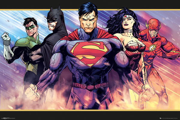 Plakat Obraz Dc Comics Heroes Kup Na Posterspl