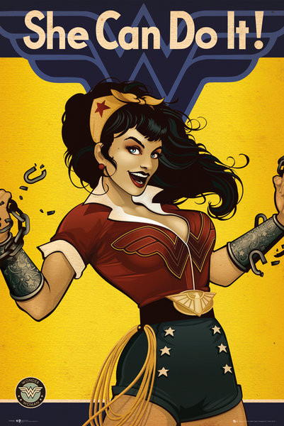 Plakát DC Comics - Wonder Woman Bombshell