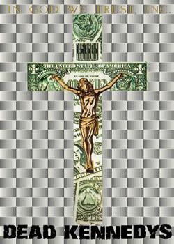 Plakat Dead Kennedys - krucifix