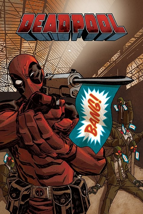 Plakát Deadpool - Bang