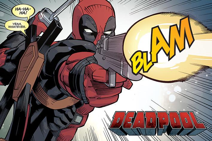 Plakát Deadpool - Blam