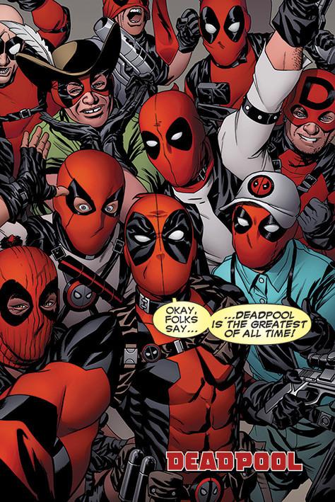Plakát Deadpool - Selfie