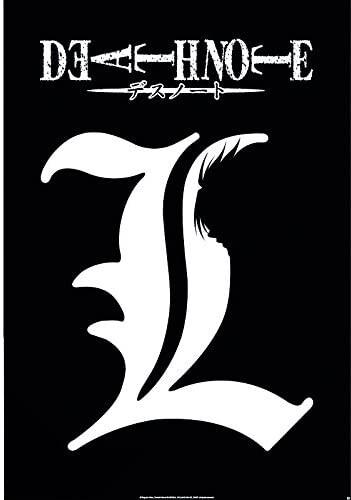 Plakát Death Note - L Symbol