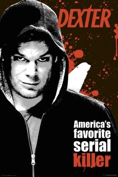Plakat DEXTER - america's favorite serial
