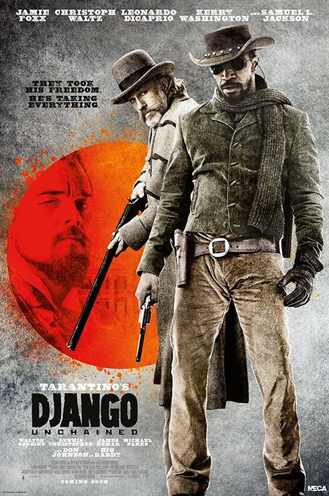Plakat DJANGO - they look his free
