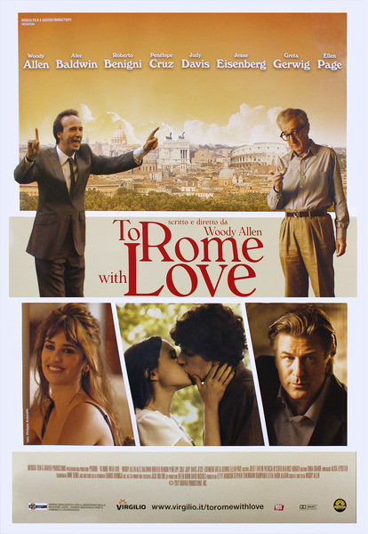 Plakát DO ŘÍMA S LÁSKOU - TO ROME WITH LOVE
