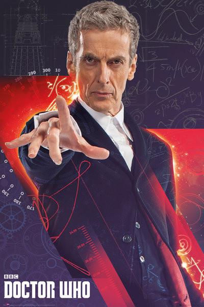 Plakát Doctor Who - Capaldi
