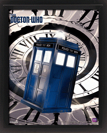Plakat  Doctor Who - Tardis Time Spiral