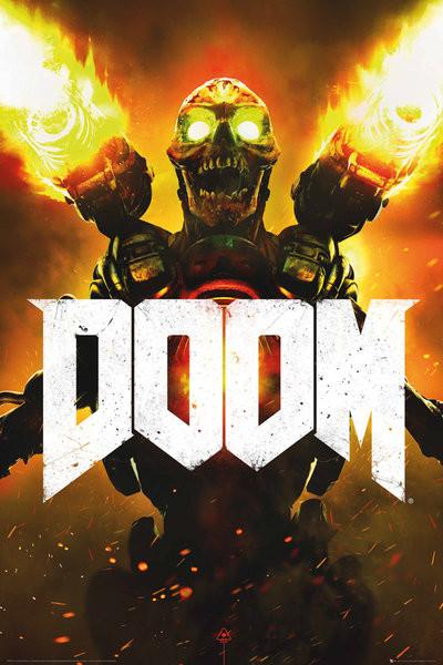Plakat Doom - Key Art