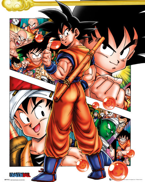 Plakat Dragon Ball - Collage