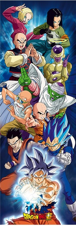 Plakát Dragon Ball Super - Group