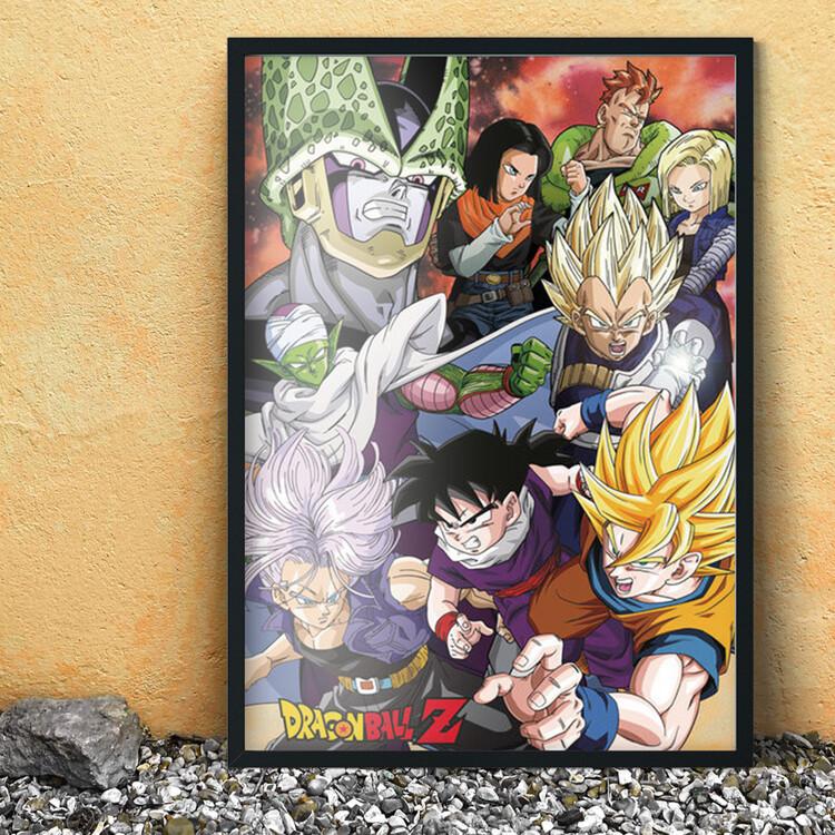 Plakát Dragon Ball Z - Cell Saga