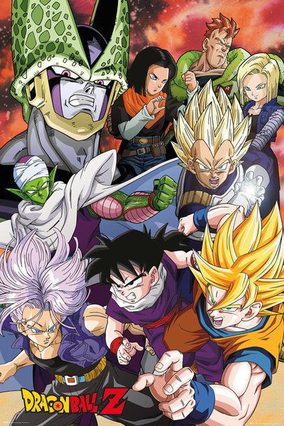 Plakat Dragon Ball Z - Cell Saga